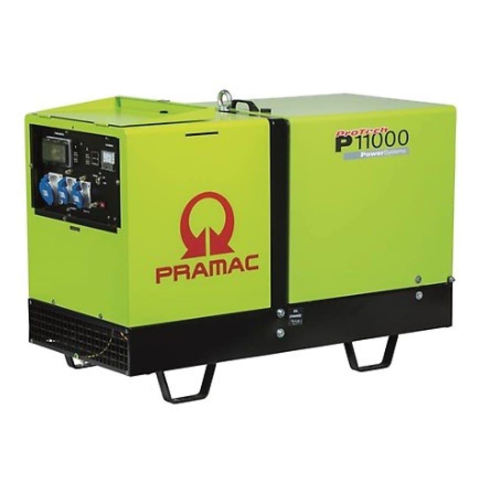 Электрогенераторная установка дизельная однофазная pramac p11000+amf+phs pf113syaz0c.