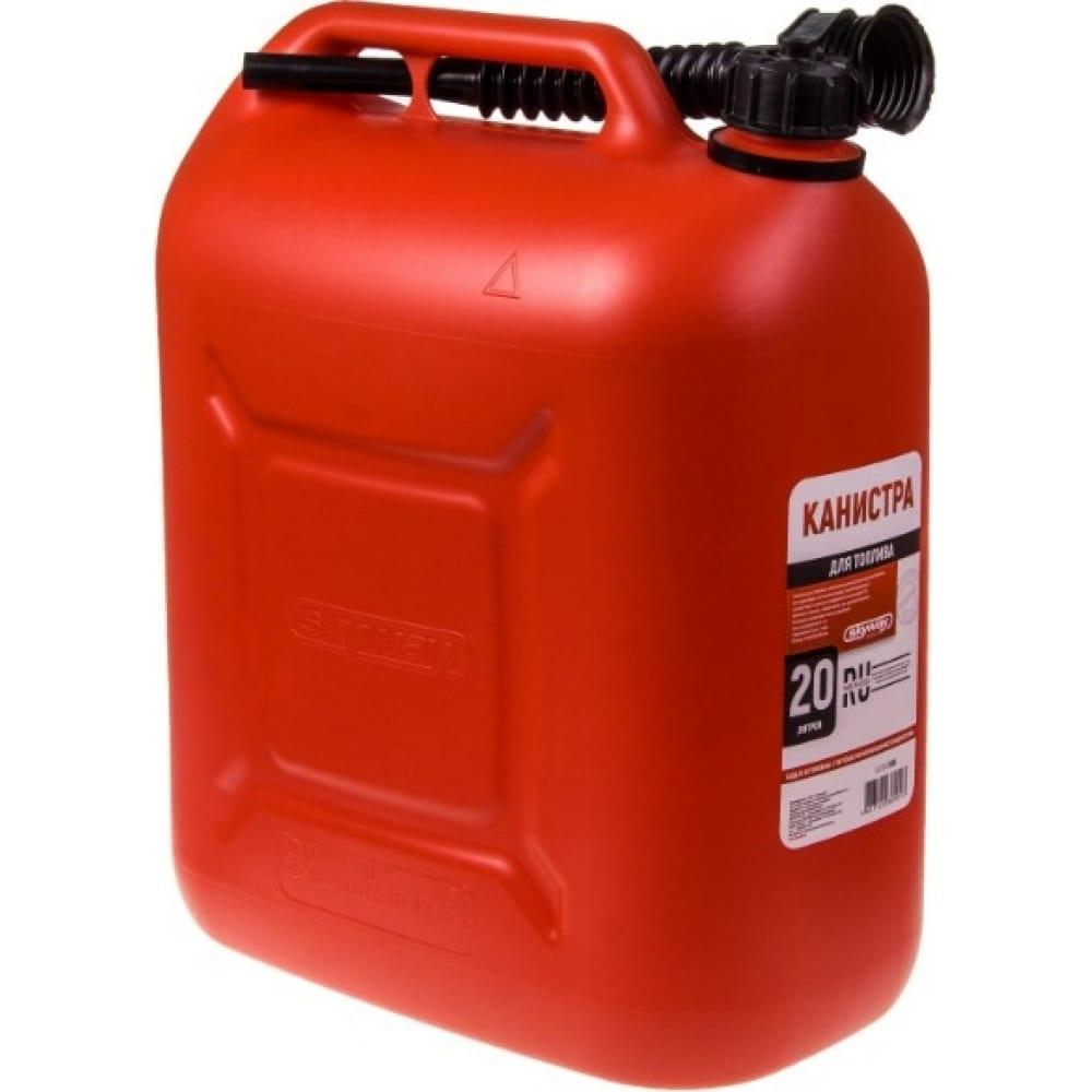 Канистра для бензина 20 л, пластик skyway s02602005