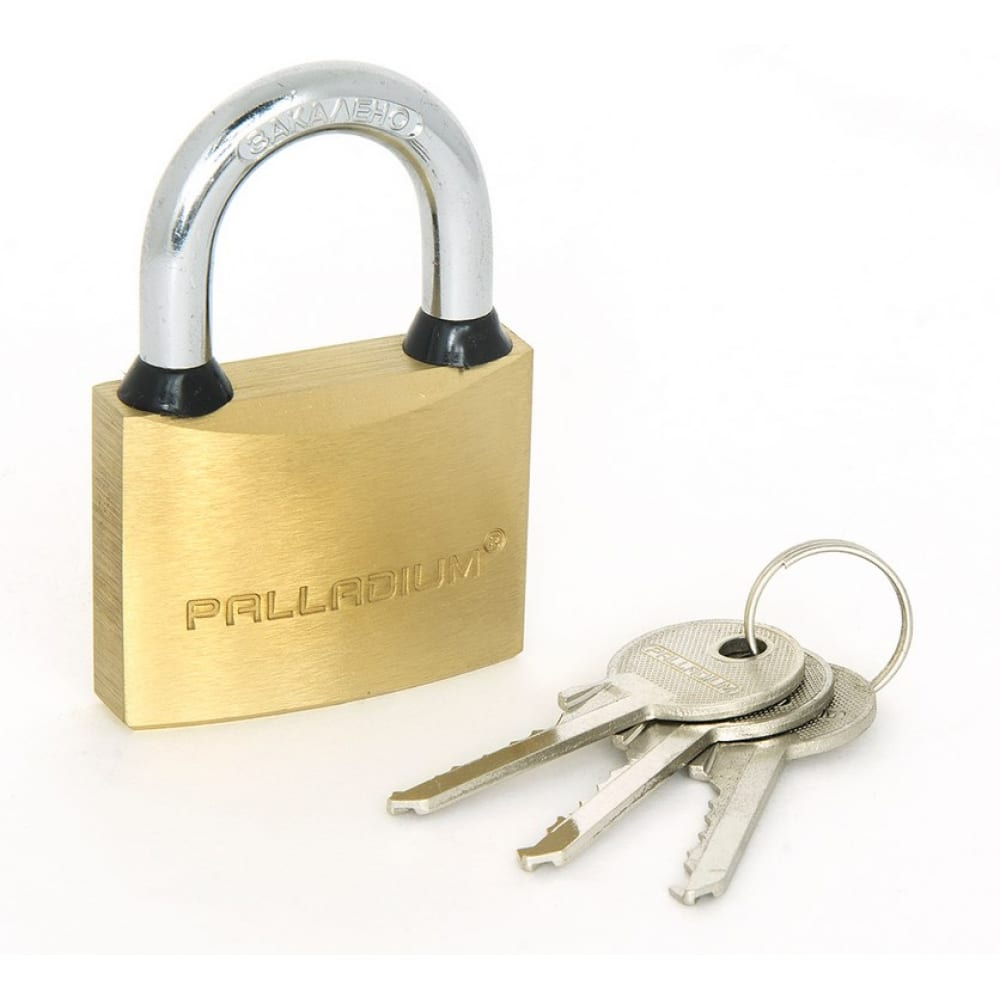 Купить Навесной замок palladium 301b-50 9246