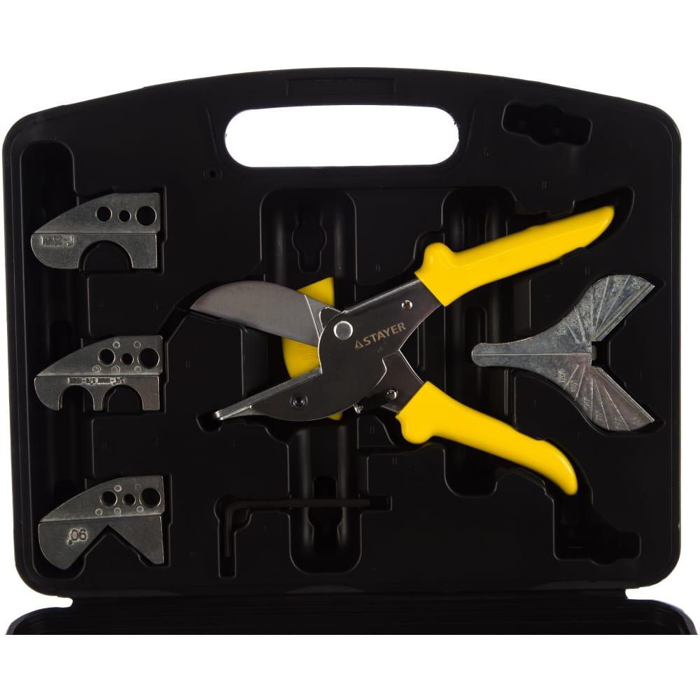 Набор ножниц для резки пластиковых профилей stayer 6 предметов 23374-h6