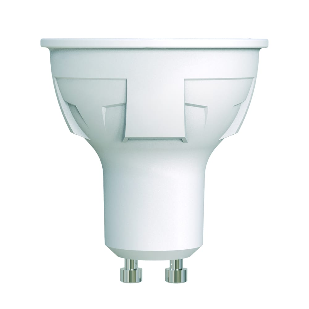 Купить Диммируемая светодиодная лампа uniel форма jcdr серия яркая led-jcdr 6w/ww/gu10/fr/dim plp01wh ul-00003990