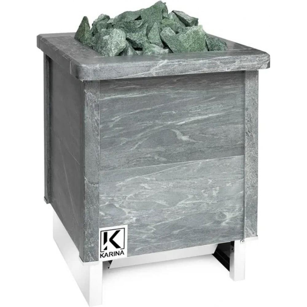 Электрическая печь karina quadro 15 талькохлорит qu-15-380-t