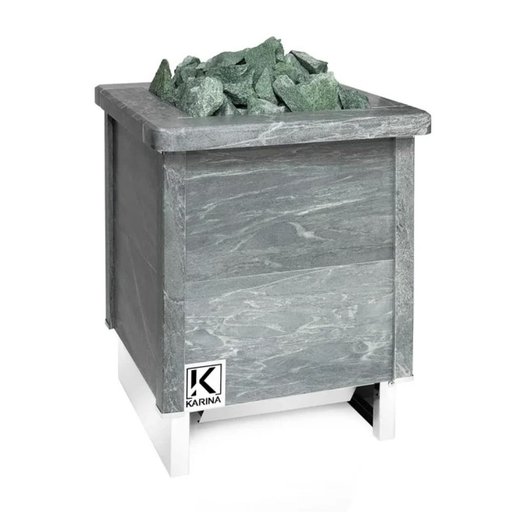 Электрическая печь karina quadro 18 талькохлорит qu-18-380-t