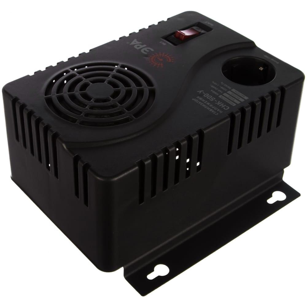 Компактный универсальный стабилизатор напряжения эра снк-500-у 160-260в/220в, 500ва б0031063  - купить со скидкой
