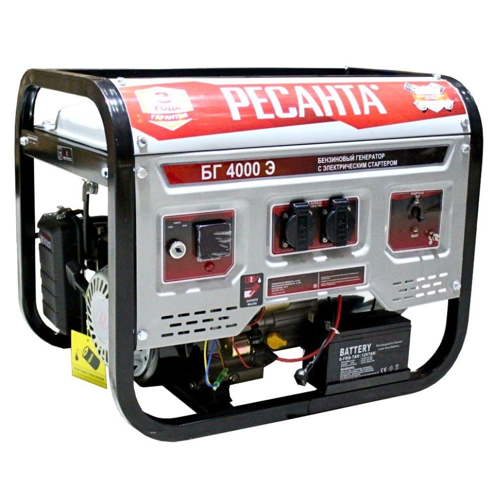 Электрогенератор ресанта бг 4000 э 64/1/52.
