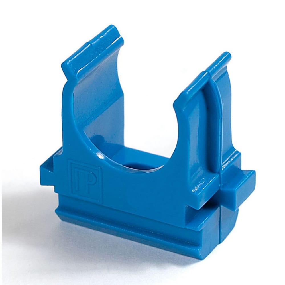 Купить Крепёж-клипса для труб промрукав абс-пластик синяя д20 100шт pr13.0058