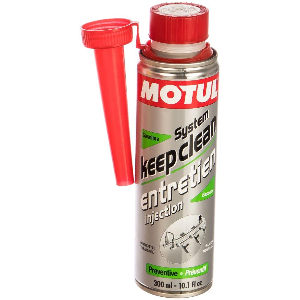 Очиститель motul system keep clean gasoline