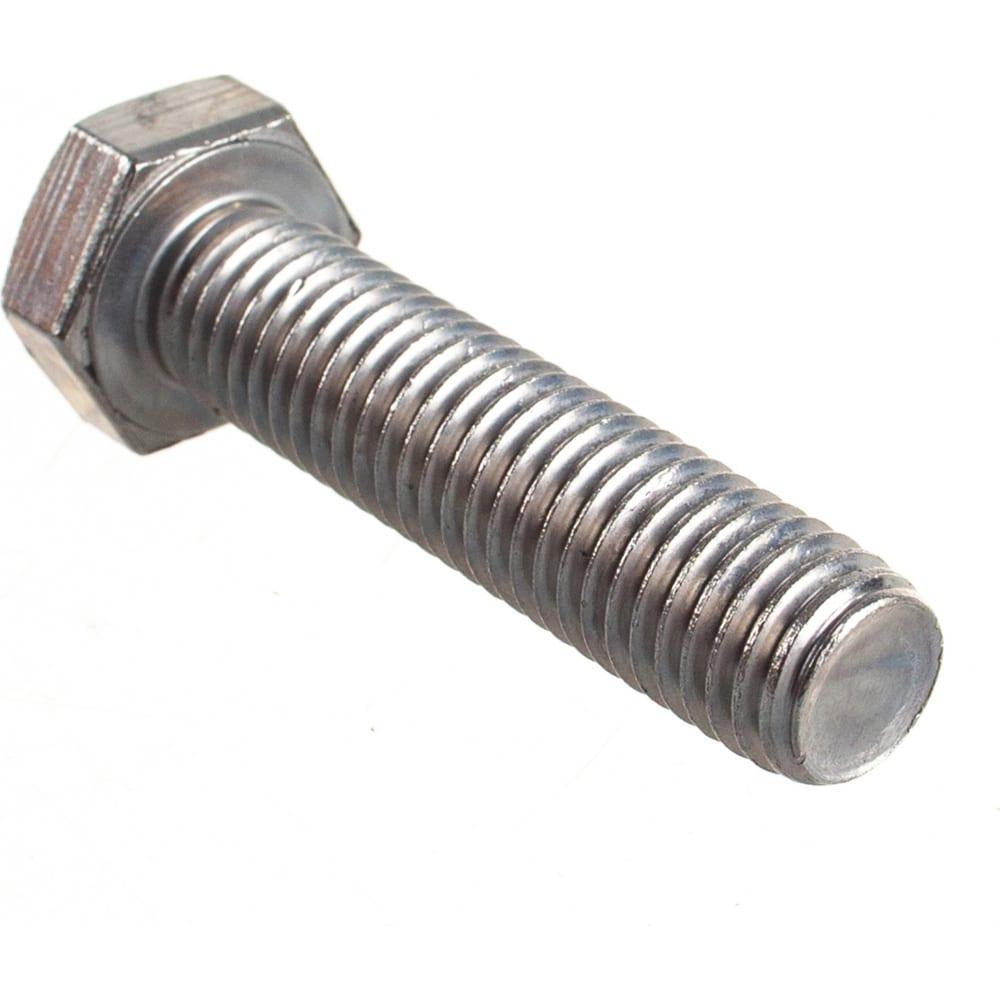 Купить Болт с шестигранной головкой, с полной резьбой европартнер din 933 нержав. сталь, 12х50 мм, 2 шт. g2 1250 2