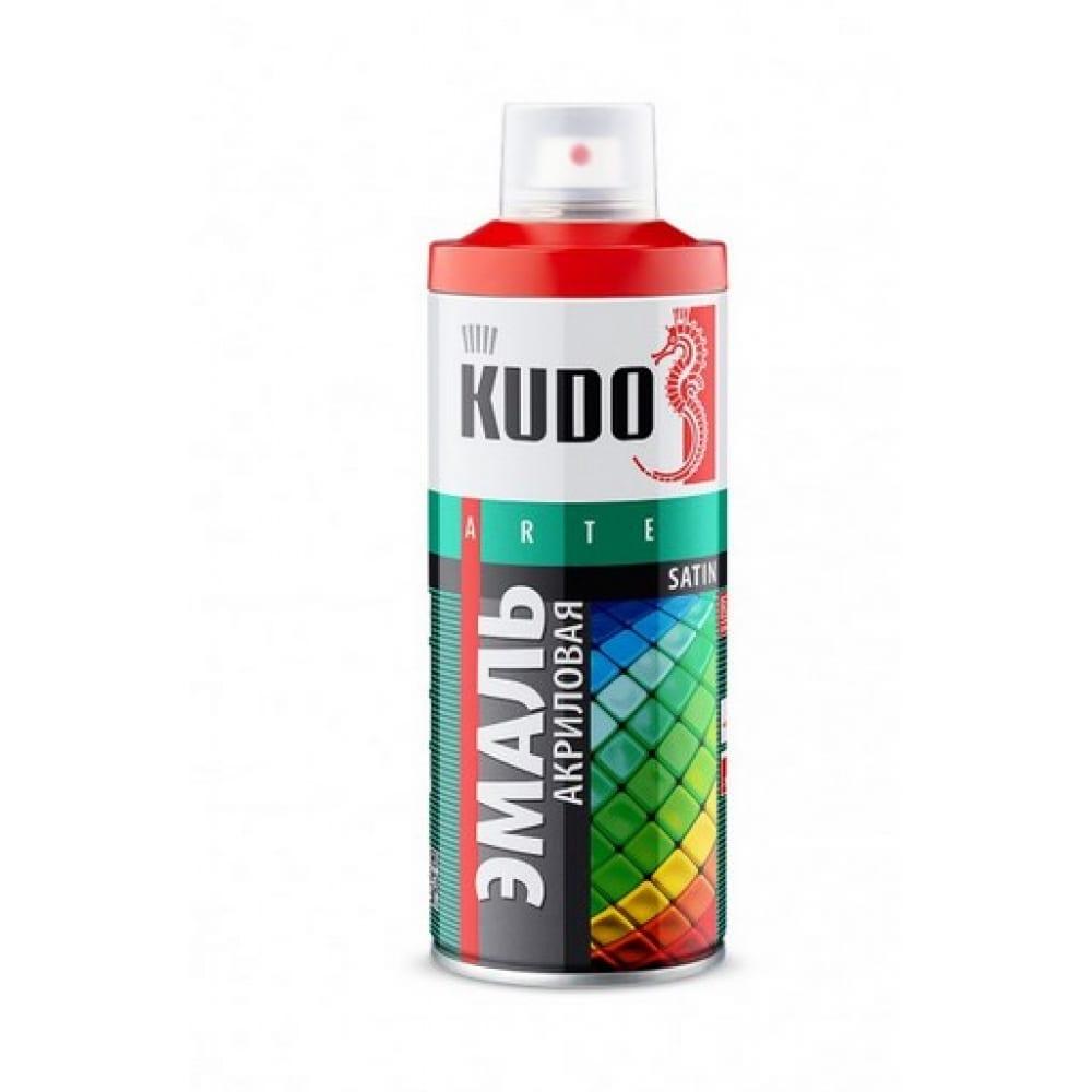 Купить Эмаль-аэрозоль kudo ун. темно-зеленая 520 мл 1/12 1007 54681