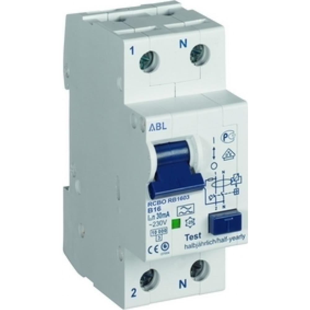 Дифференциальный автомат abl 1p+n, c, 40 а, 10 ка, 30 мa, тип а fc4003 rc4003