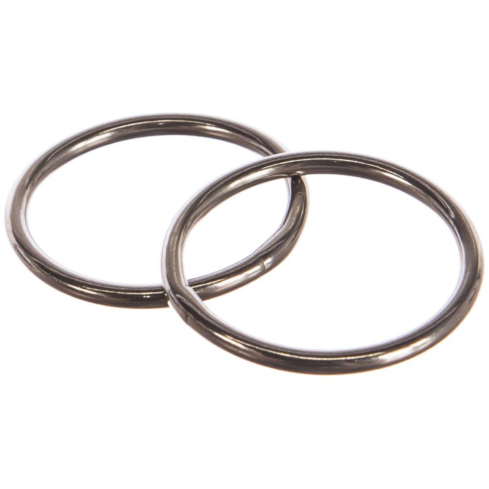 Кольцо европартнер d30 мм, h-3 мм, полированное, нержав. сталь, 2 шт. g1 0330  - купить со скидкой