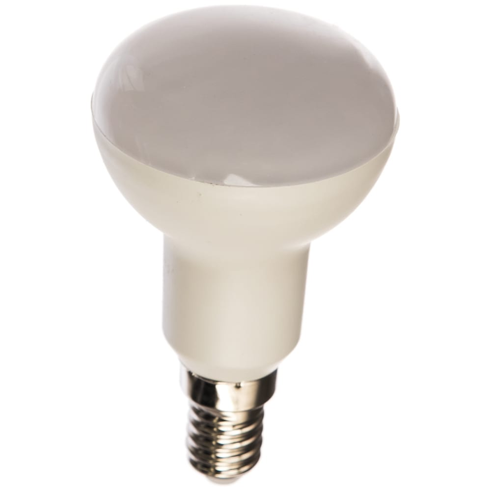 Светодиодная лампа volpe. форма рефлектор, матовая. серия norma led-r50-7w/ww/e14/fr/nr ul-00003845