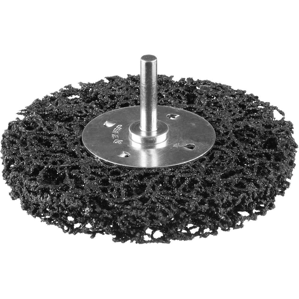 Купить Щетка дисковая профессионал (50 мм; нейлоновая проволока с абразивным покрытием) для дрели зубр 35162-050_z01