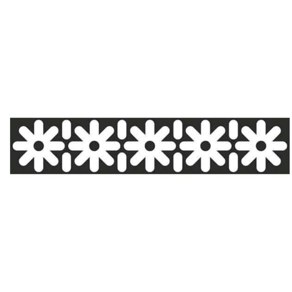 Купить Наклейка skyway бликер термо плоттер узор №3 светоотр. цвет серебро л1794