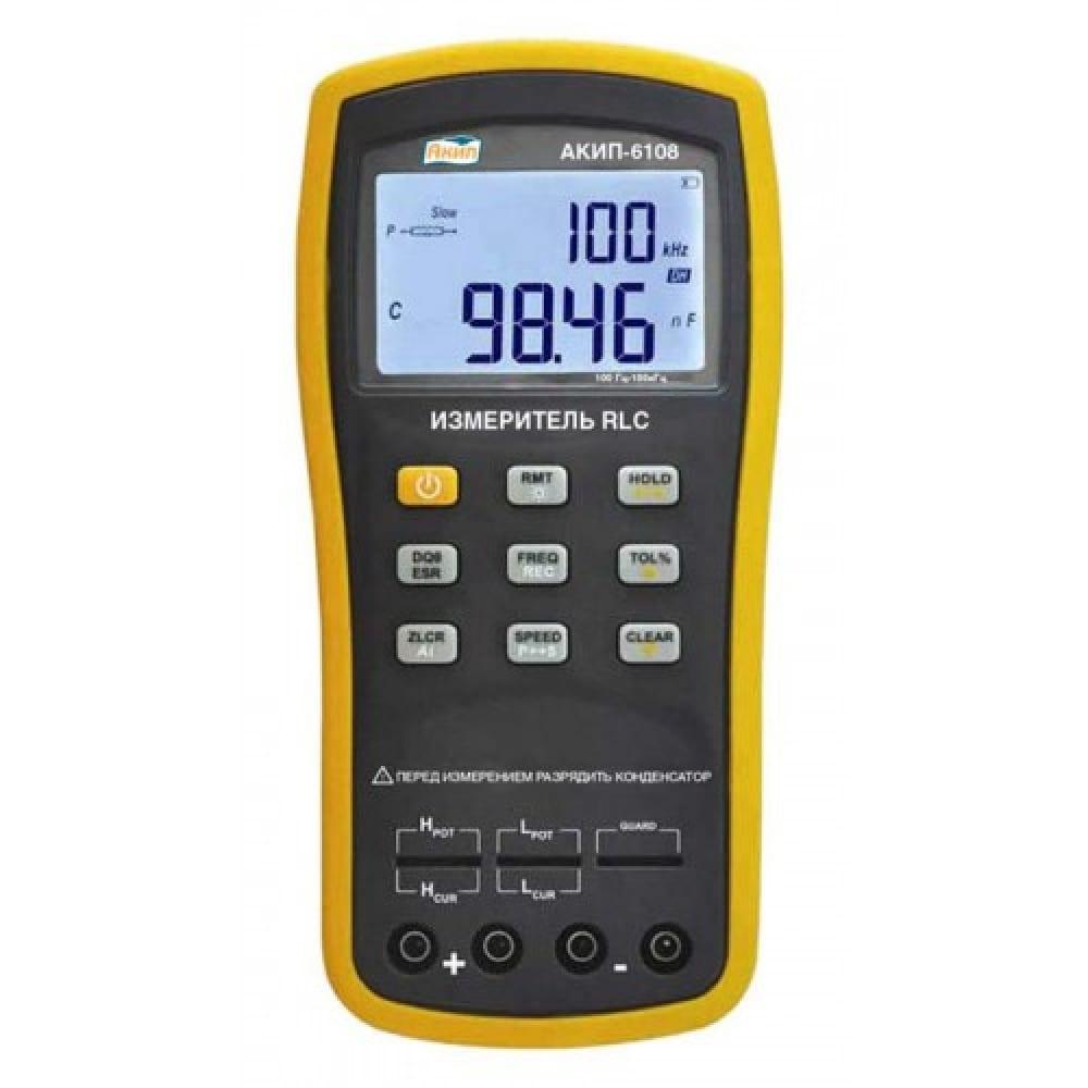 Измеритель акип rlc 6108