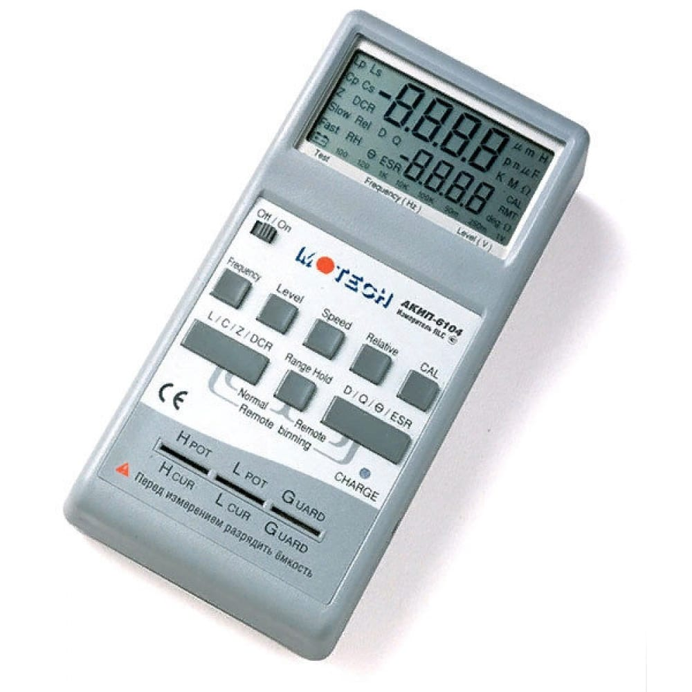 Измеритель акип rlc 6104