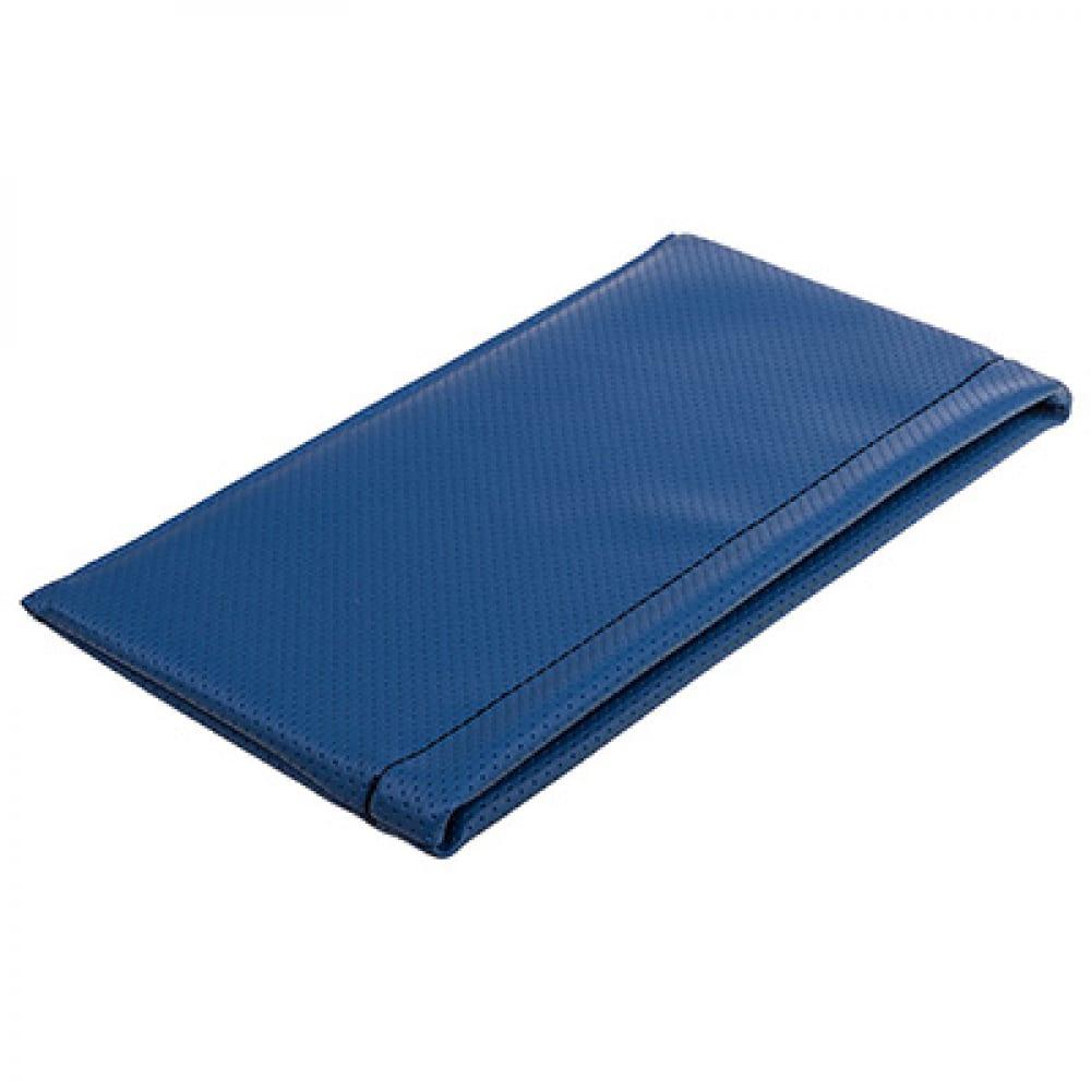 Купить Карман-органайзер кожа перфорированная синий, строчка черная skyway s06402016