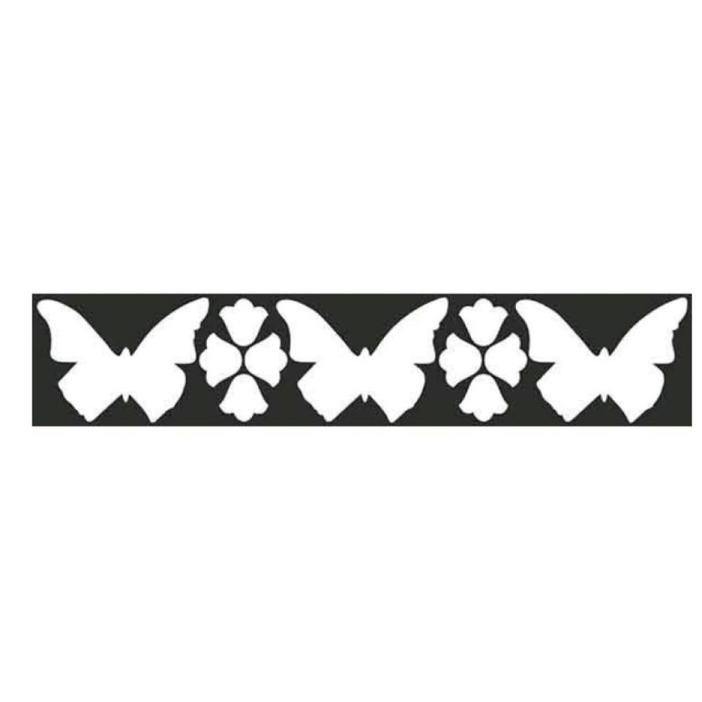 Купить Наклейка skyway бликер термо плоттер бабочки цвет серебро л1781