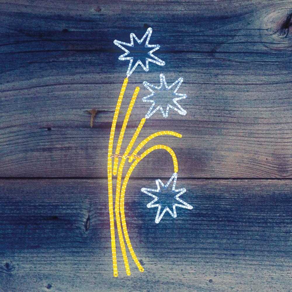 Купить Светодиодная фигура neon-night звездный фейерверк 85х175см 501-336