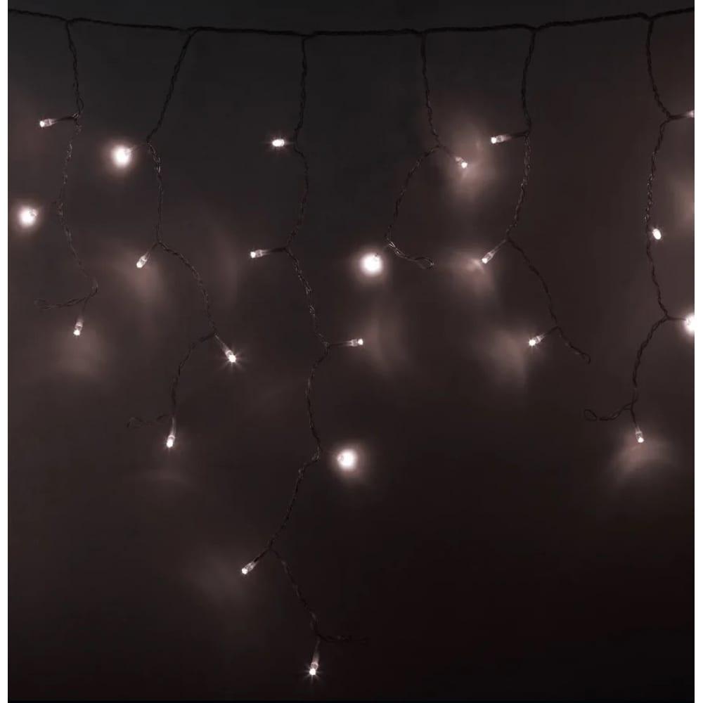 Светодиодная гирлянда neon night бахрома постоянное свечение
