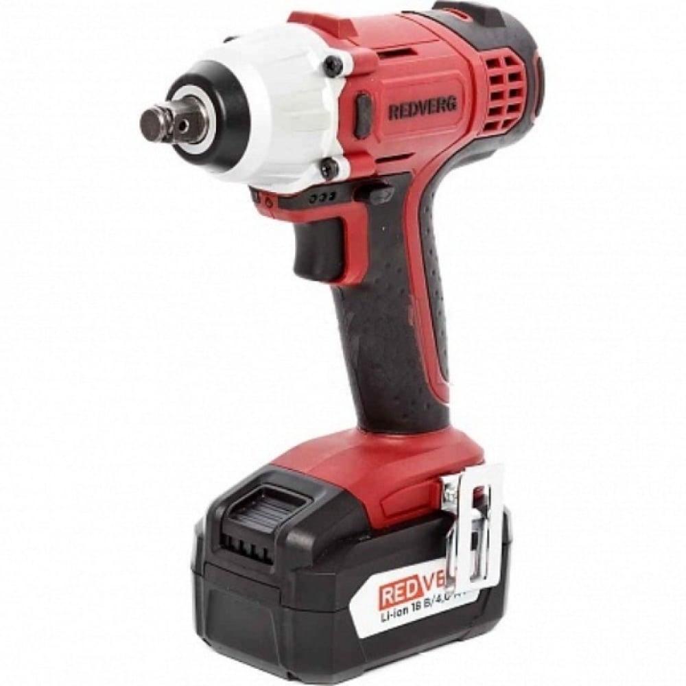 Аккумуляторный ударный гайковерт redverg rd-iw18v 6628356.
