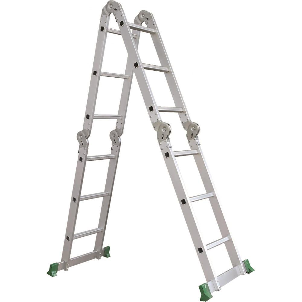 Лестница-трансформер rigger 4х5 101415р  - купить со скидкой