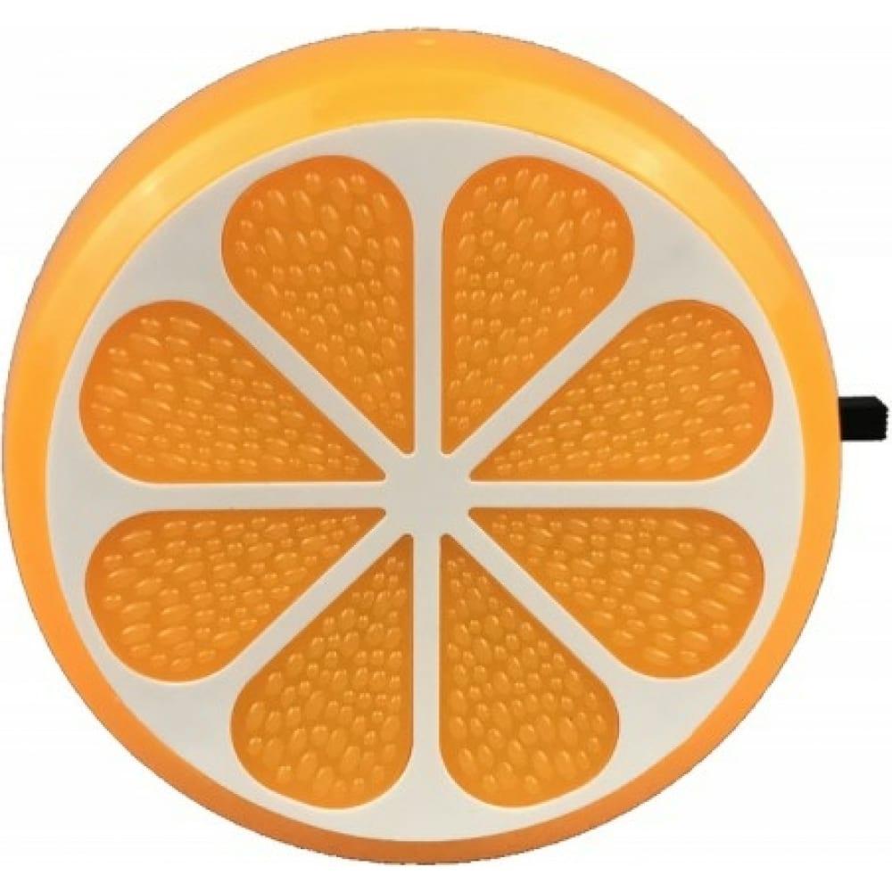 Купить Ночник camelion nl-234 апельсин led с выключателем, 220v 13809