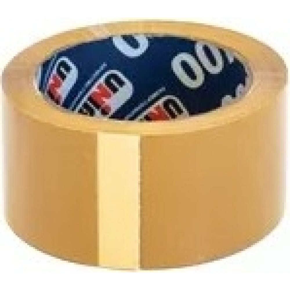 Купить Упаковочная клейкая лента unibob коричневая 48 мм х 66 м 134837