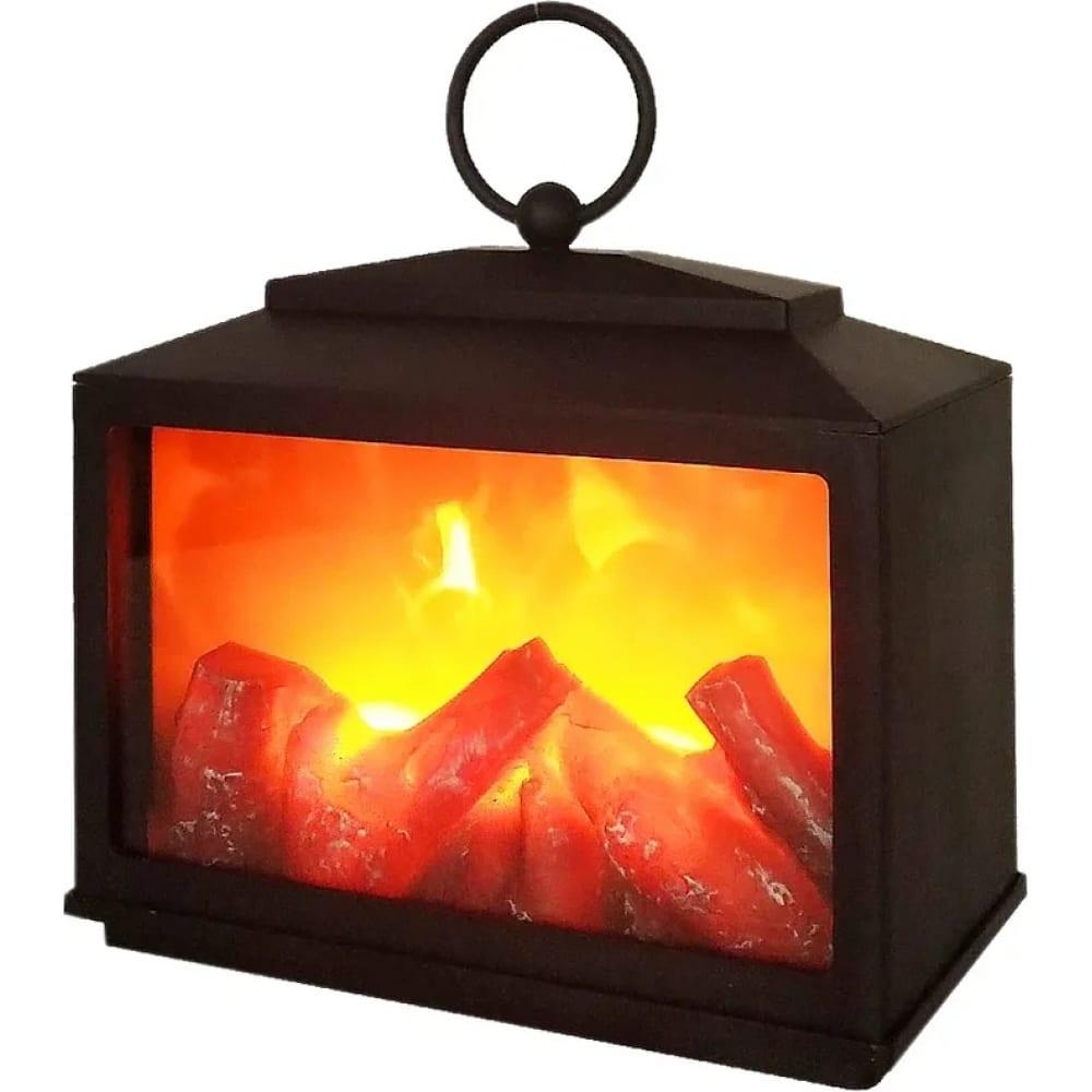 Светодиодный камин светильник neon night сканди