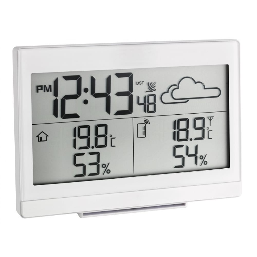 Купить Цифровая метеостанция tfa casa белая 35.1135.02