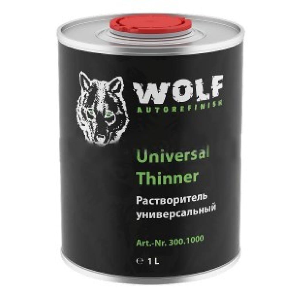 Акриловый растворитель wolf 1 л 302.1000