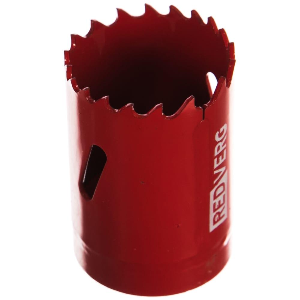 Коронка биметаллическая 35 мм redverg 6627104