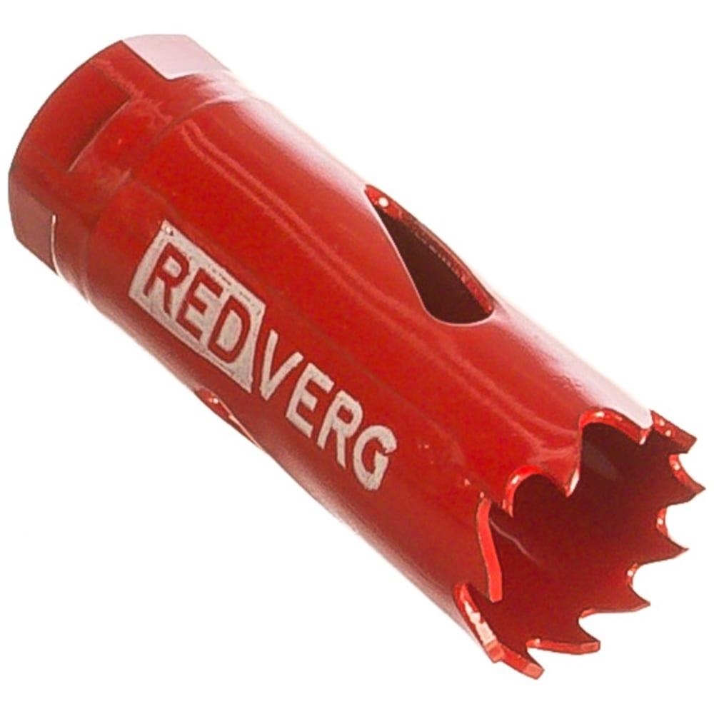 Коронка биметаллическая 20 мм redverg 6627097