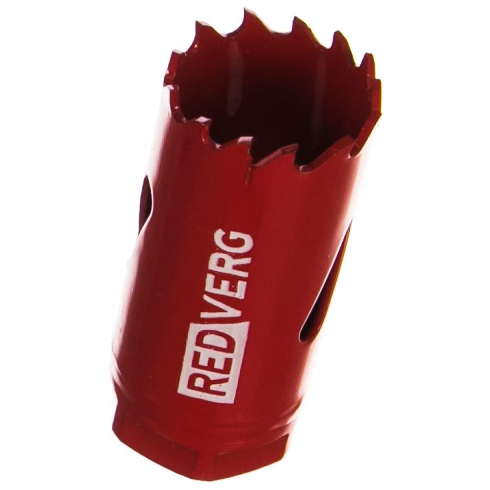 Коронка биметаллическая 24 мм redverg 6627099