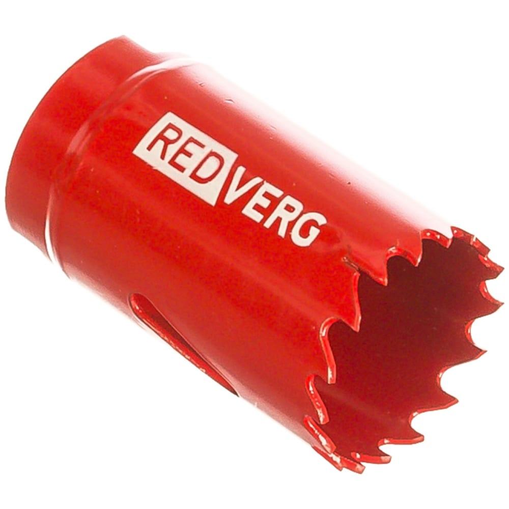Коронка биметаллическая 30 мм redverg 6627102