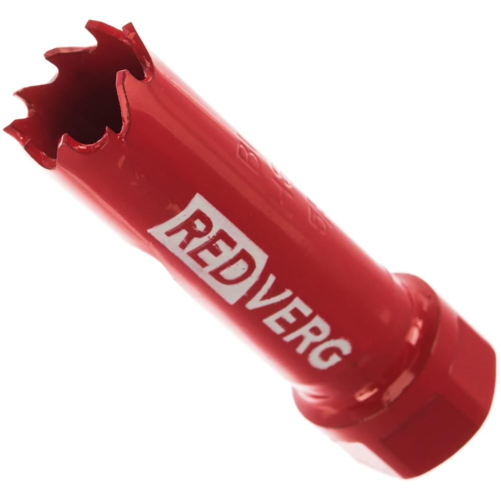 Коронка биметаллическая 16 мм redverg 6627095