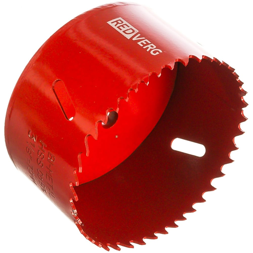 Коронка биметаллическая 79 мм redverg 6627120