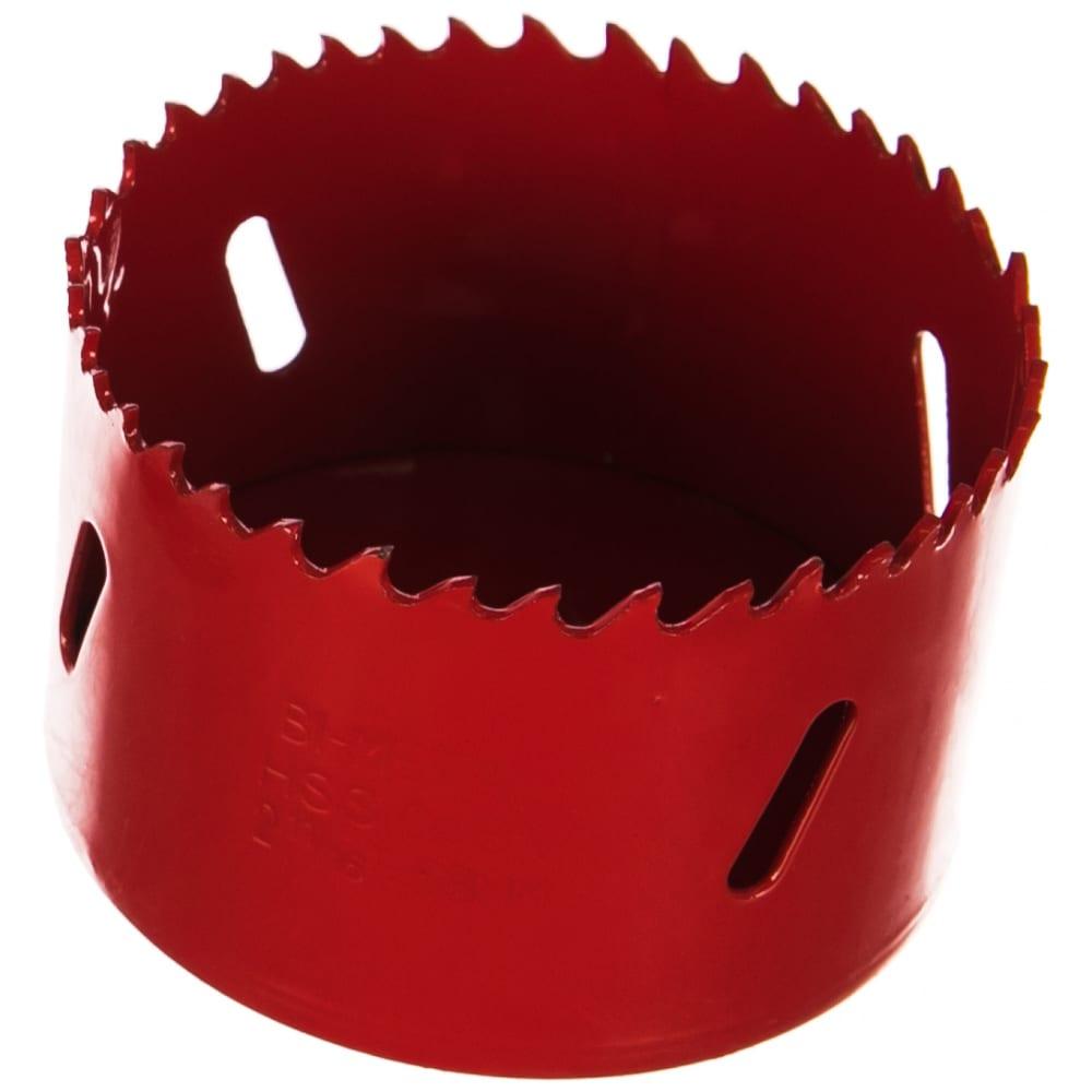 Коронка биметаллическая 68 мм redverg 6627117
