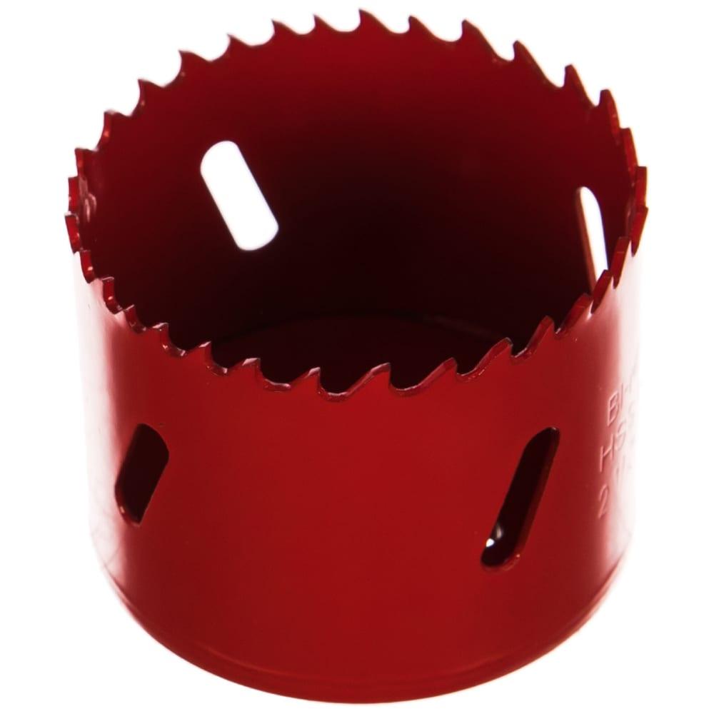 Коронка биметаллическая 57 мм redverg 6627114