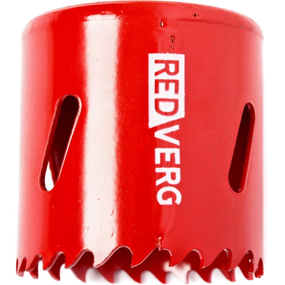 Коронка биметаллическая 44 мм redverg 6627108