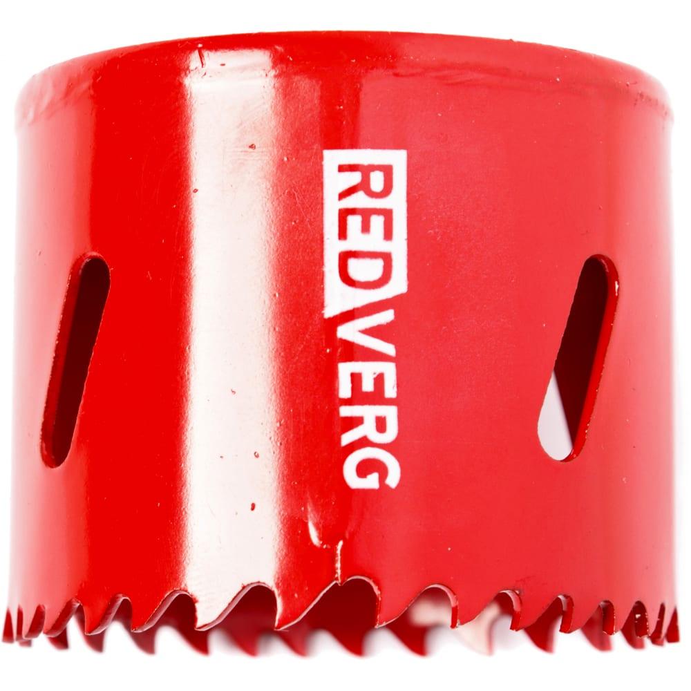Коронка биметаллическая 54 мм redverg 6627113