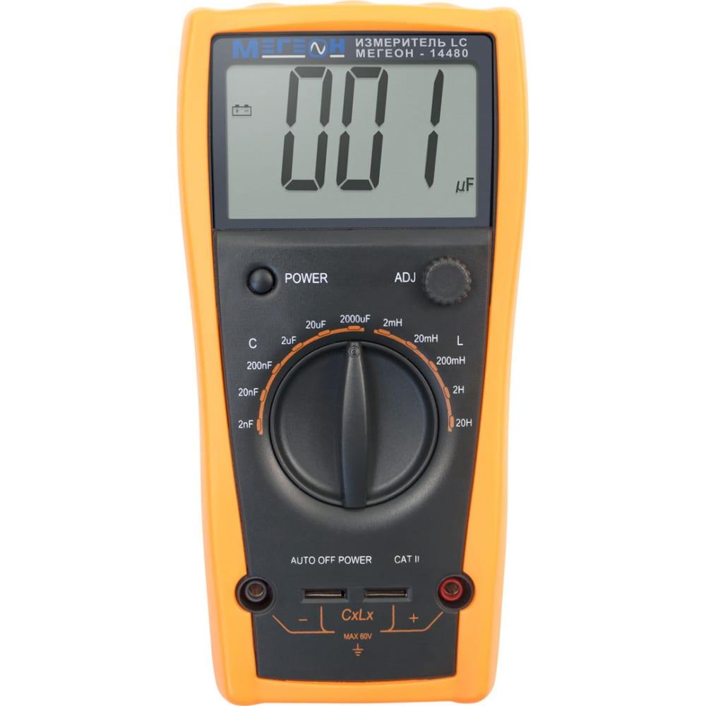 Цифровой измеритель индуктивности и емкости мегеон 14480 к0000013695
