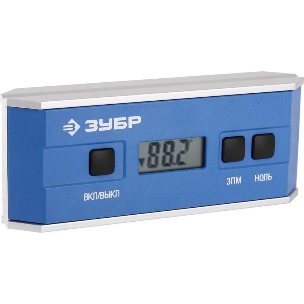 Электронный уровень-угломер зубр мини профессионал 34745_z01