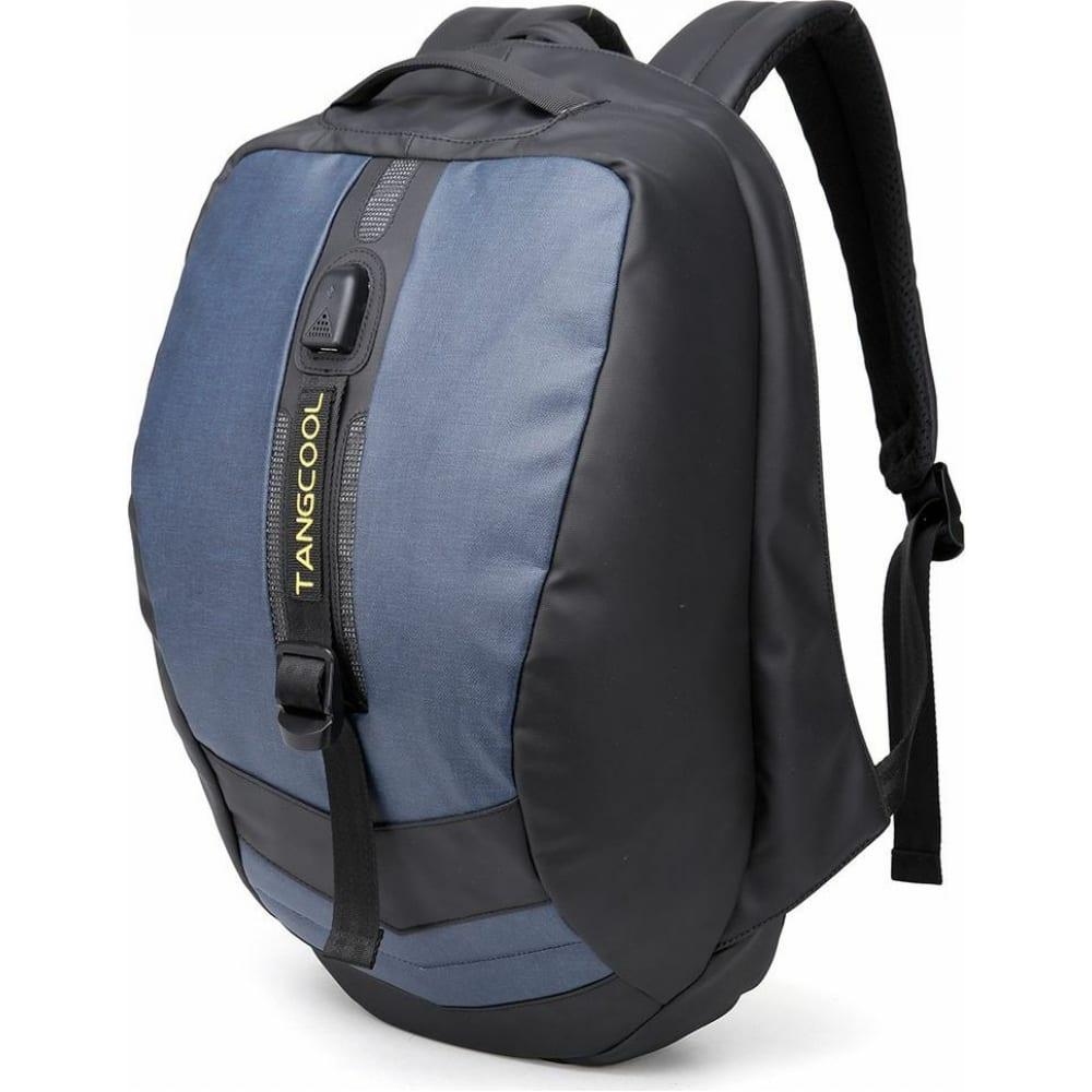 Рюкзак tangcool tc726 черный синий, 15.6