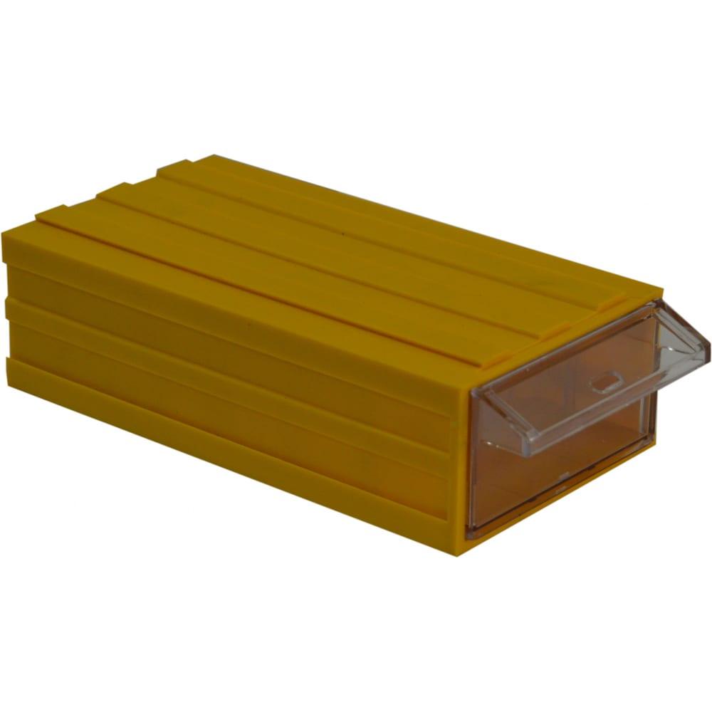 Контейнер с выдвижным ящиком автоэлектрика аs 205 синий 4003-1