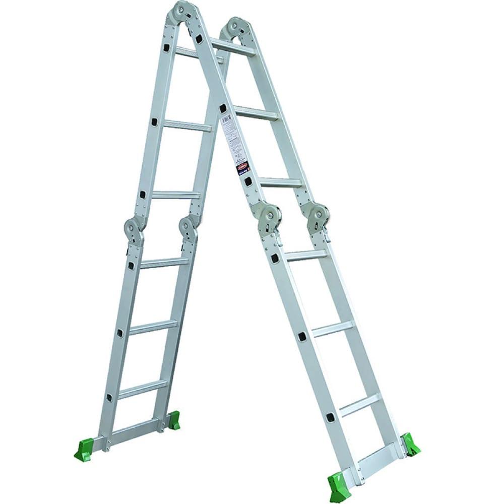 Лестница-трансформер промышленник 4x4 4704