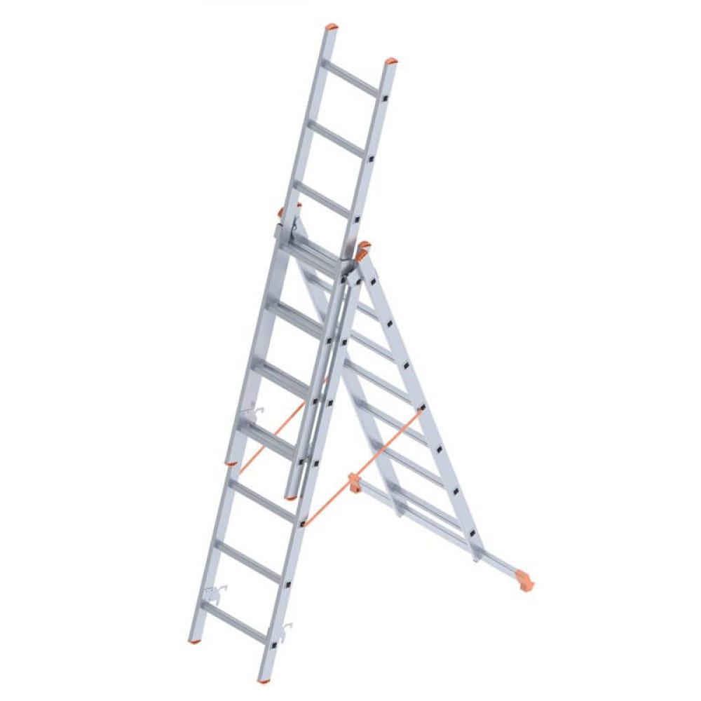 Алюминиевая лестница промышленник 3x7 4307