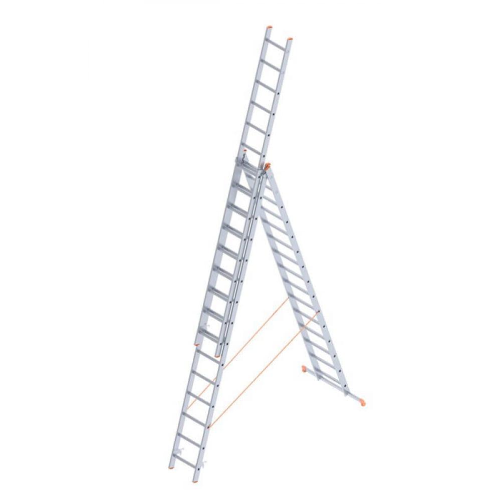 Алюминиевая лестница промышленник 3x15 4315