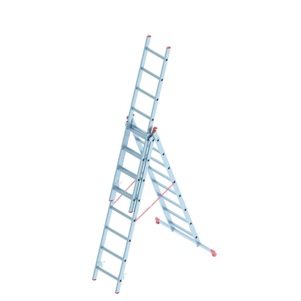 Алюминиевая лестница промышленник 3x8 4308