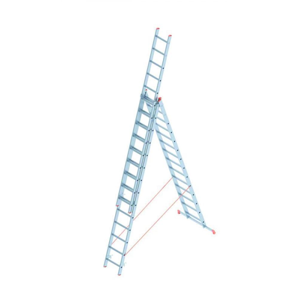 Алюминиевая лестница промышленник 3x14 4314